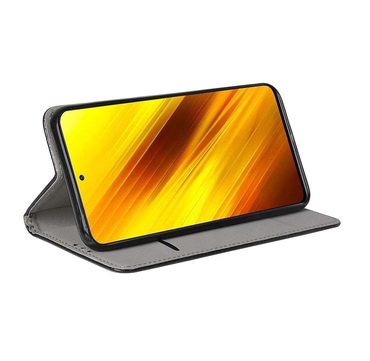 Etui do Xiaomi Poco X3 NFC Case Magnet + Szkło 9H Kod producenta F45
