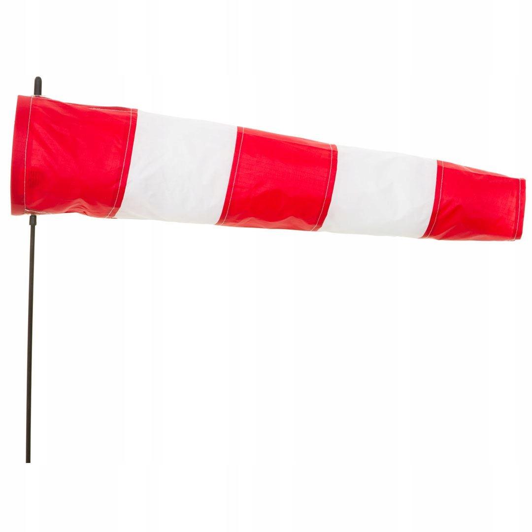 Klasická červená biela biela rukáv HQ 60 cm