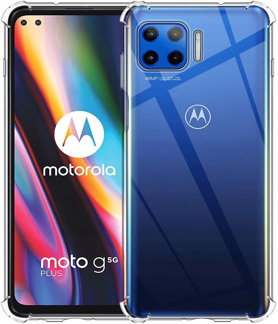 Etui do Motorola Moto G 5G Plus ANTI-SHOCK + Szkło Załączone wyposażenie szkło hartowane