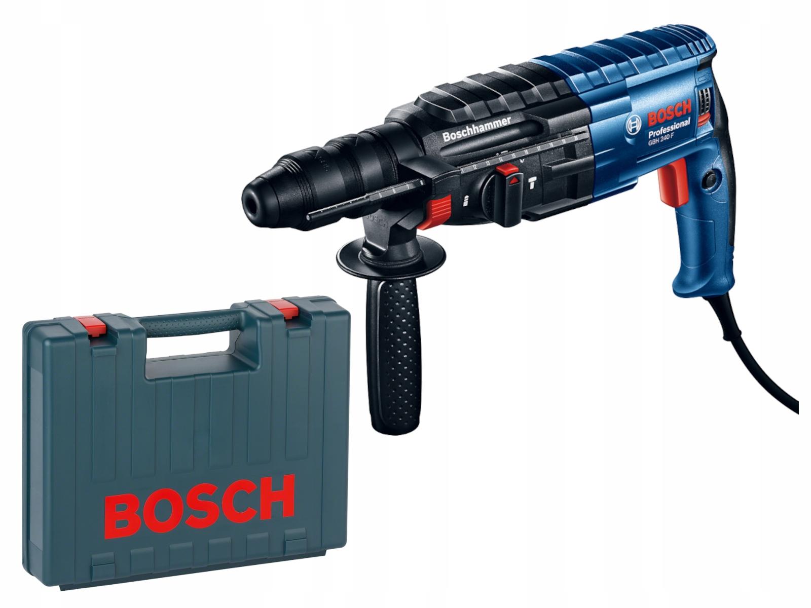 Bosch Młot udarowo-obrotowy z uchwytem GBH 240
