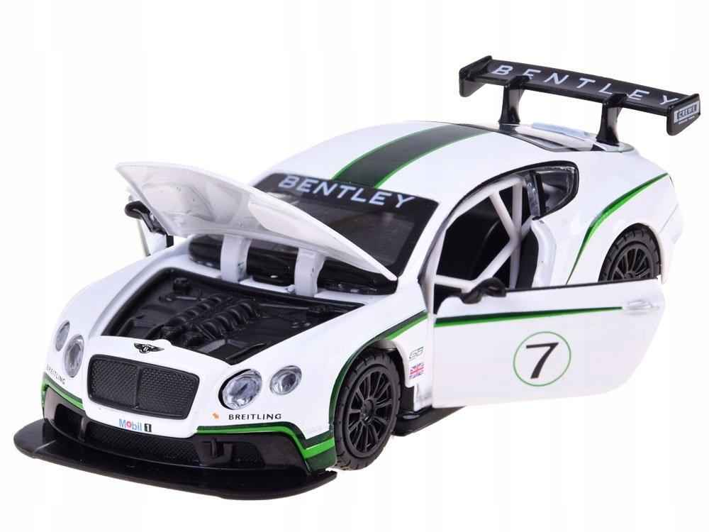 Sportowe auto Bentley 1:32 światło dźwięk ZA3142 Wiek dziecka 3 lata +