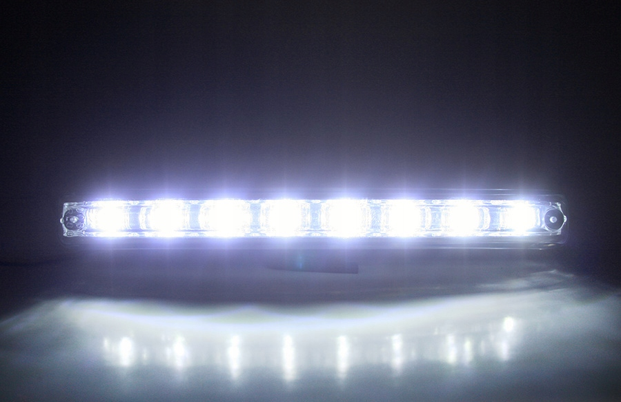 Світло до водіння щодня лед drl ксенон white 6000 - фото 6