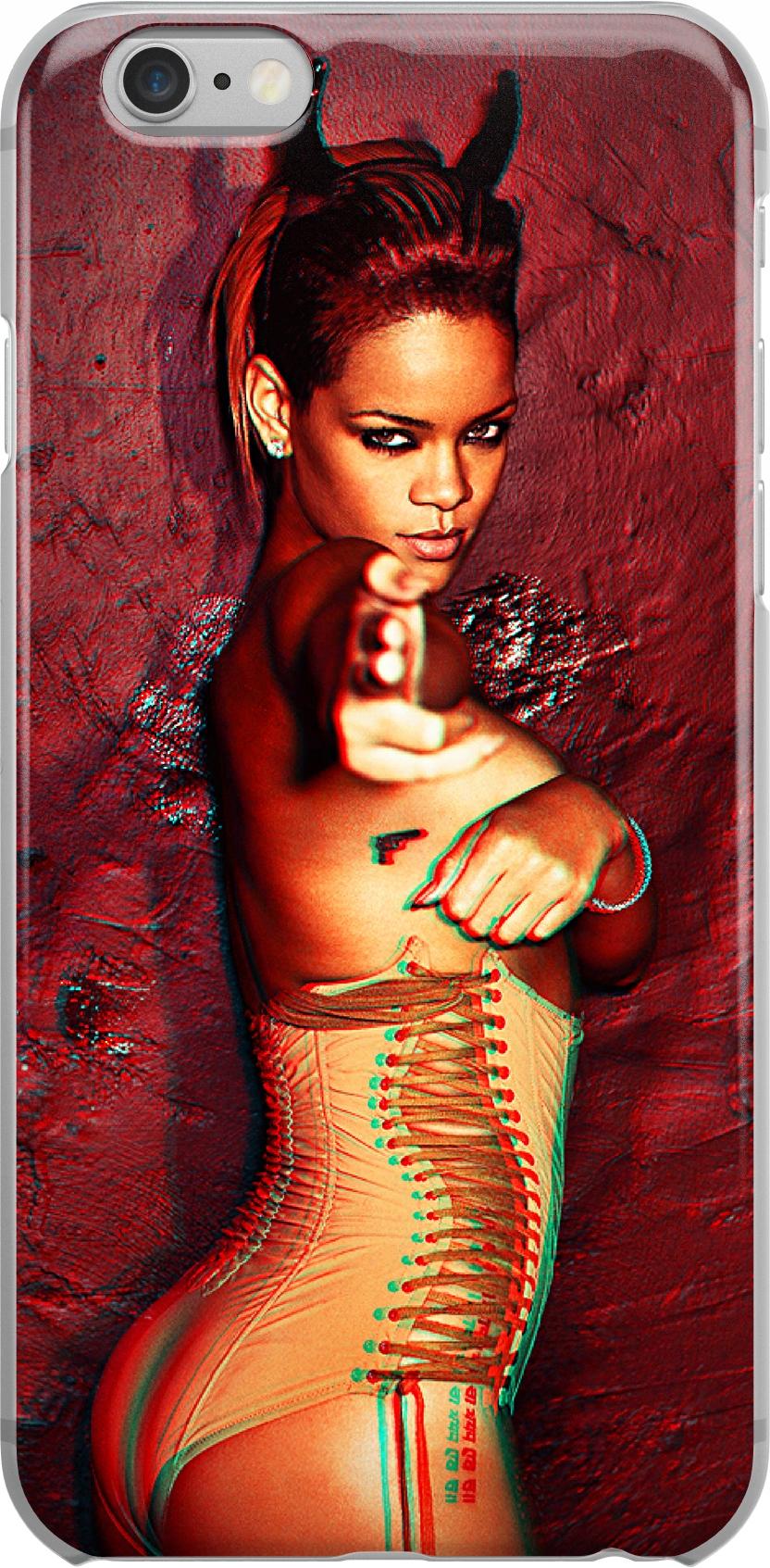 Etui Wzory Rihanna Huawei Y6P