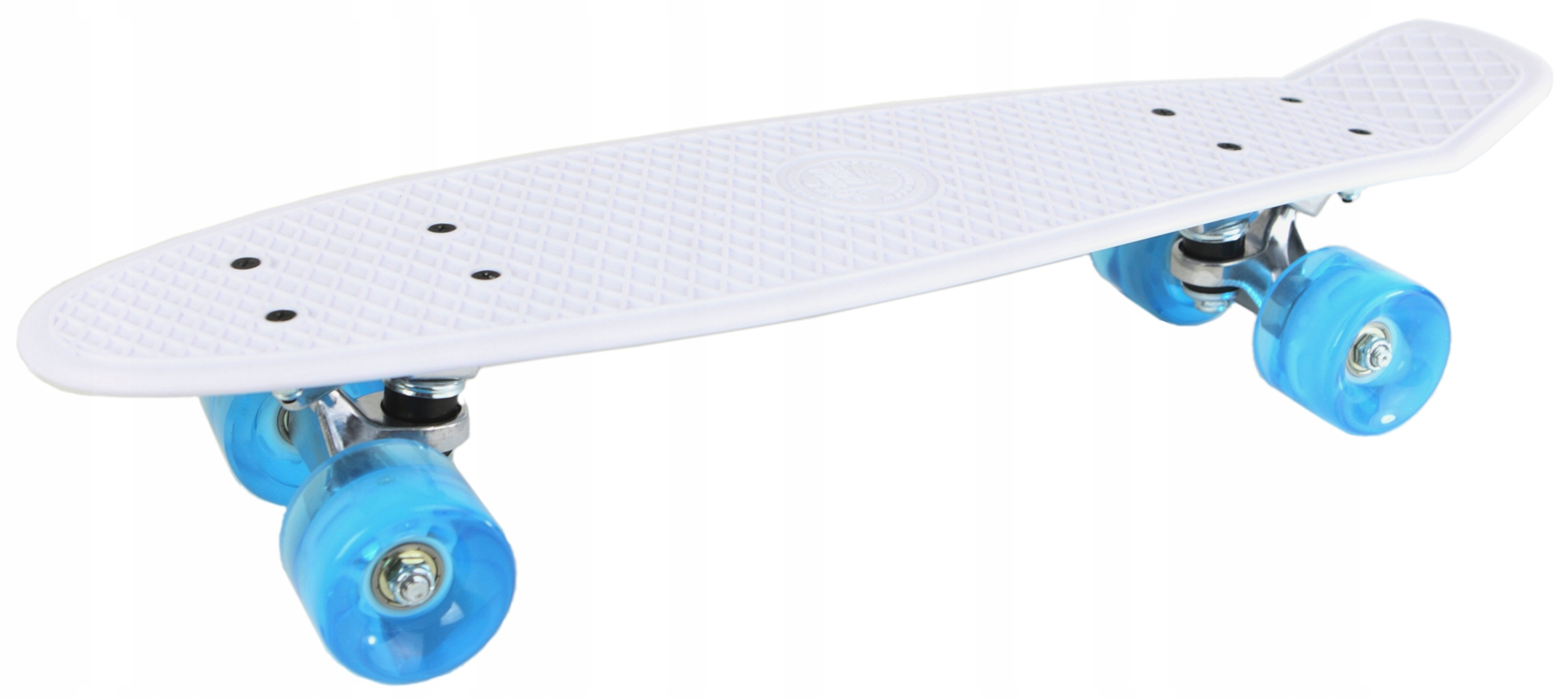 Skateboard Flashcase Modi Pique White LED žiariace