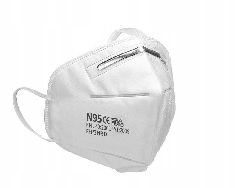 Защитная маска 10шт KN95 FFP3 ANTI-VIRUS