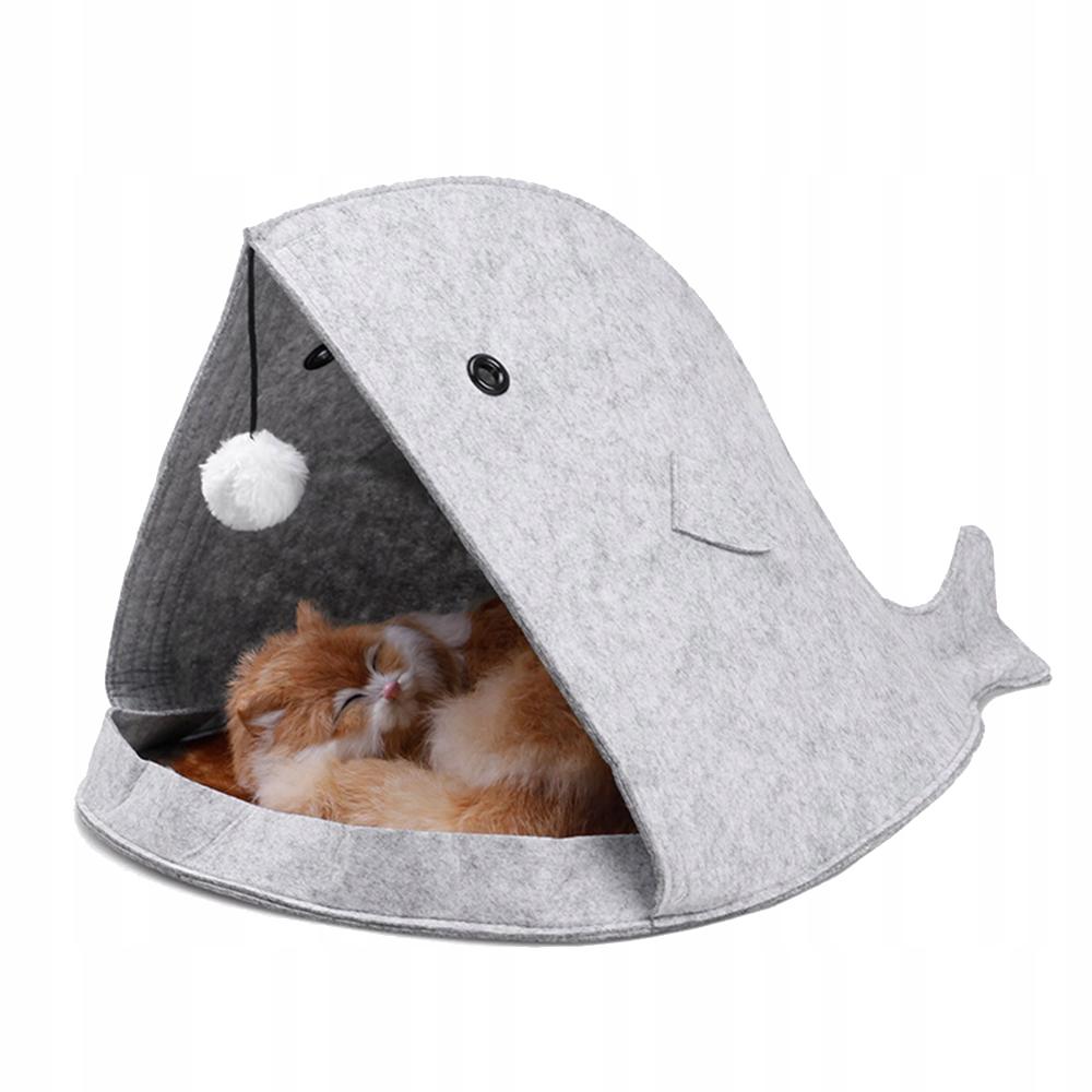 Кровать для кошек HOUSE BOOT в форме РЫБКИ