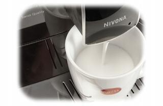 Кофемашина під тиском Nivona CafeRomatica 841 Вбудована кавомолка так