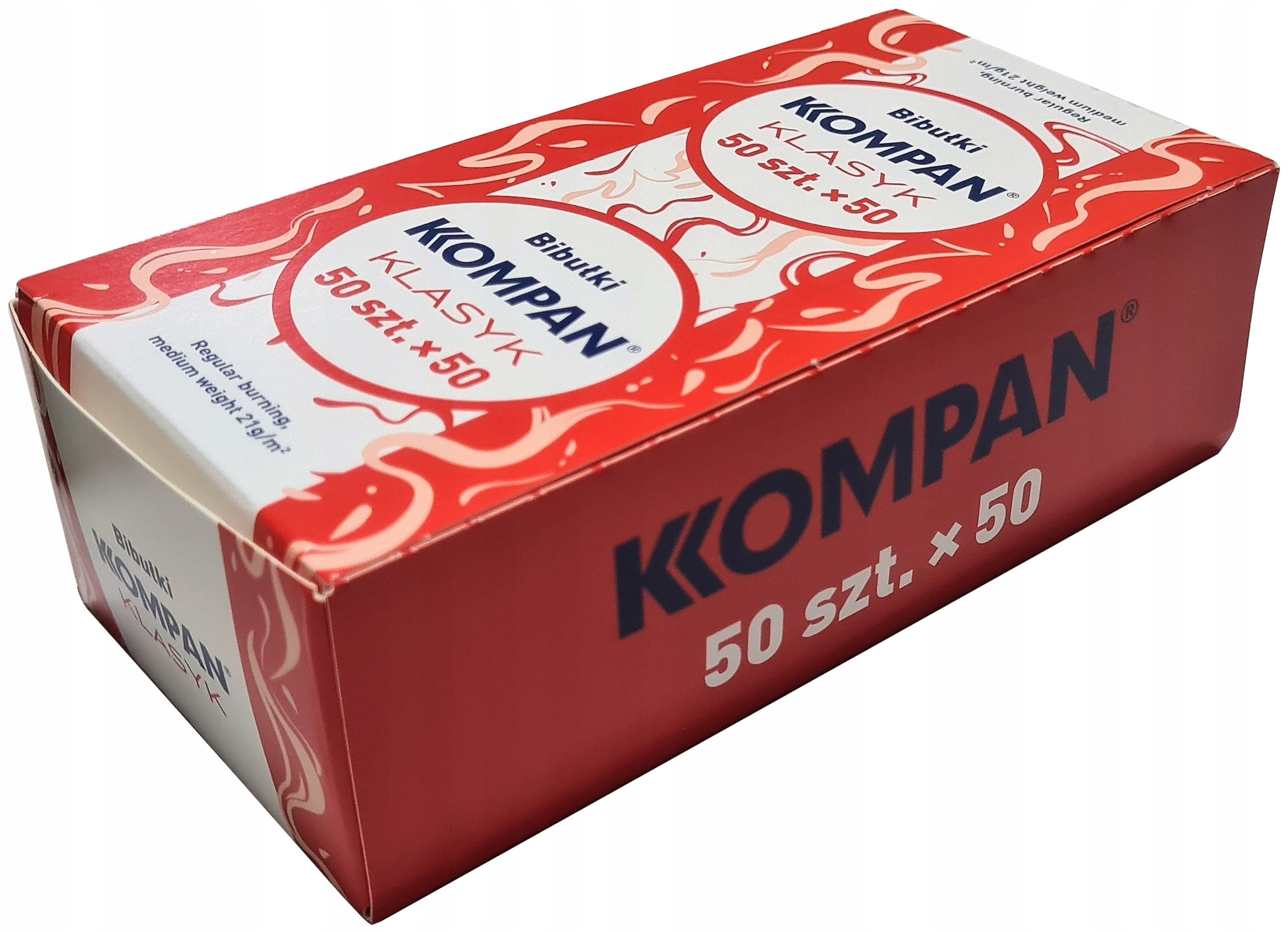 50x Бумага тканевая KOMPAN Klasyk 50 шт.