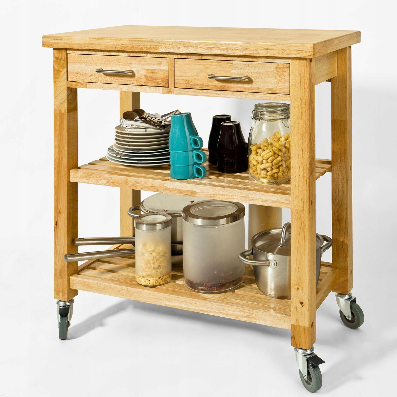 Журнальный столик Кухонный шкаф Консоль на колесиках