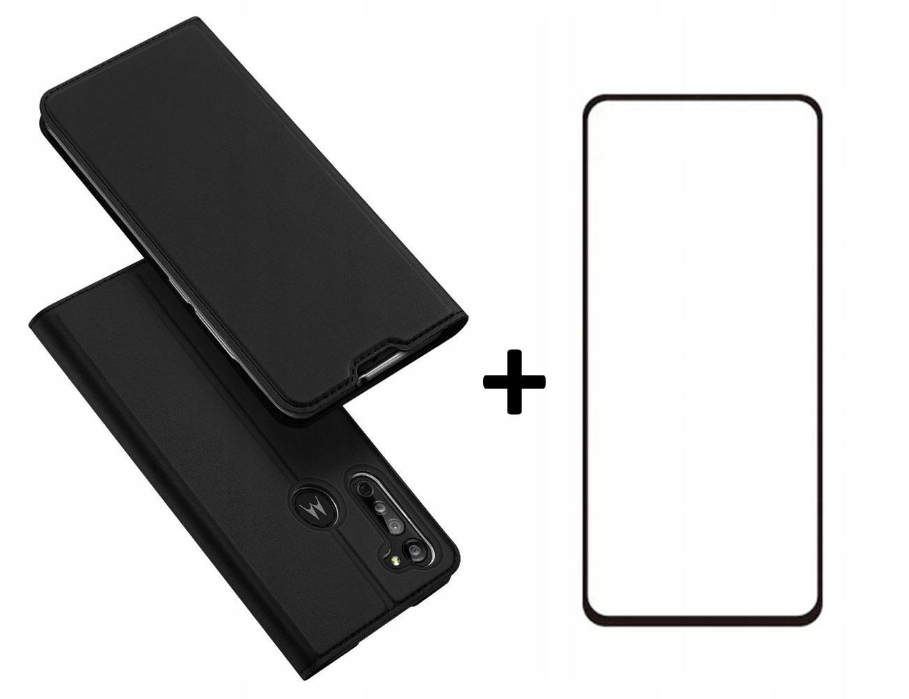 Etui DUX DUCIS + szkło do Motorola Moto G8 czarny