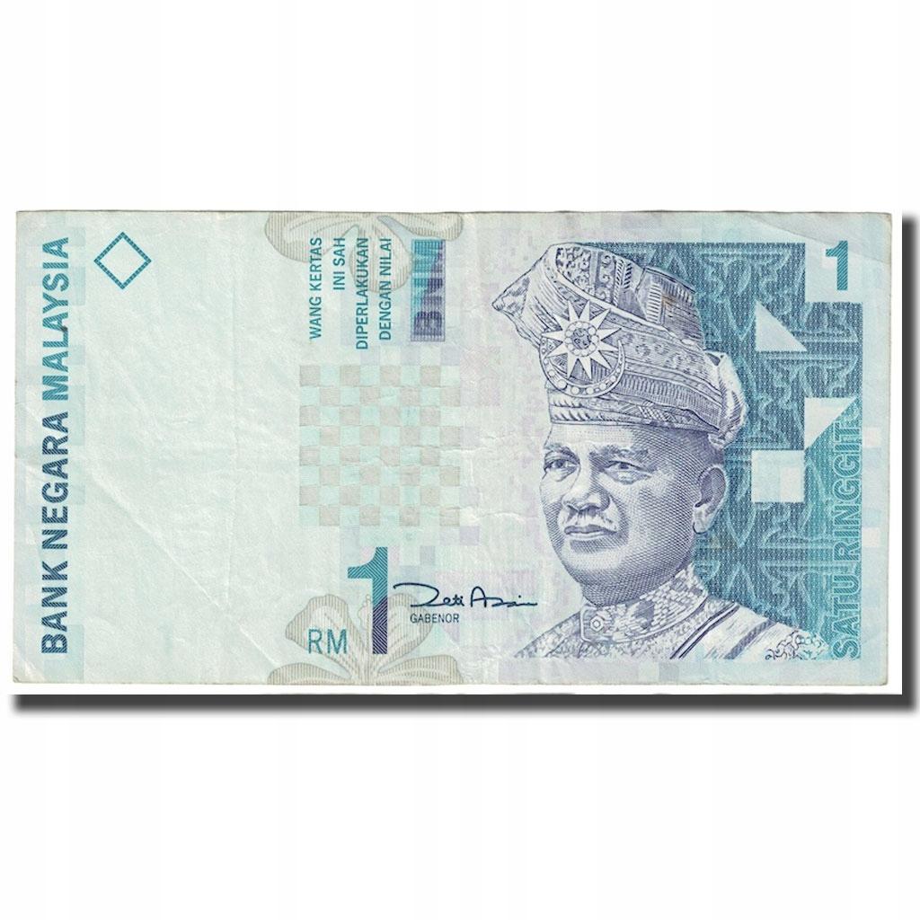 Банкнота, Малайзия, 1 ринггит, без даты (1998-), км: