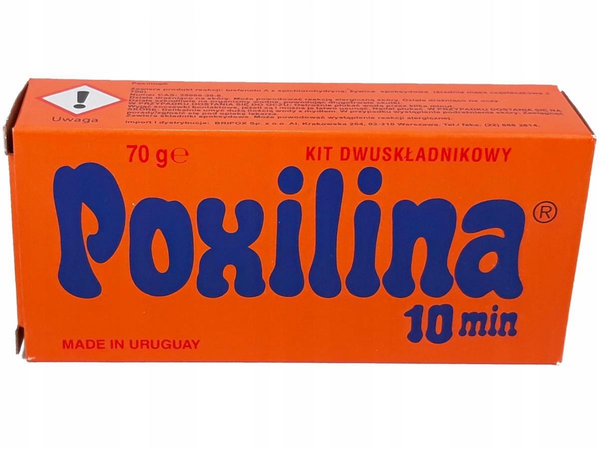 POXILINA Super Двухкомпонентный эпоксидный клей 70гр