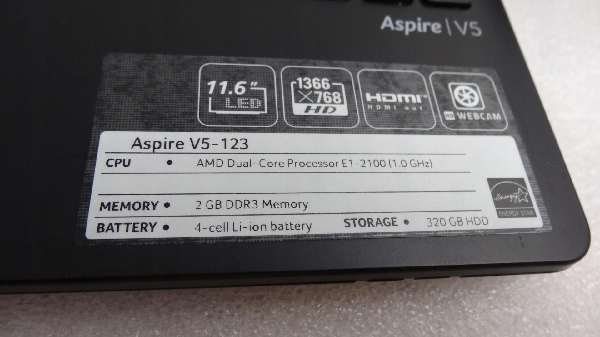 Купить Ноутбук Acer V5-123 11,6