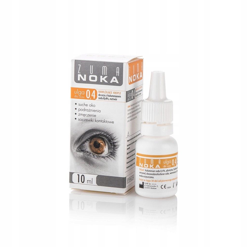 Zuma Noka Krople do oczu z hialuronianem sodu 0,4%