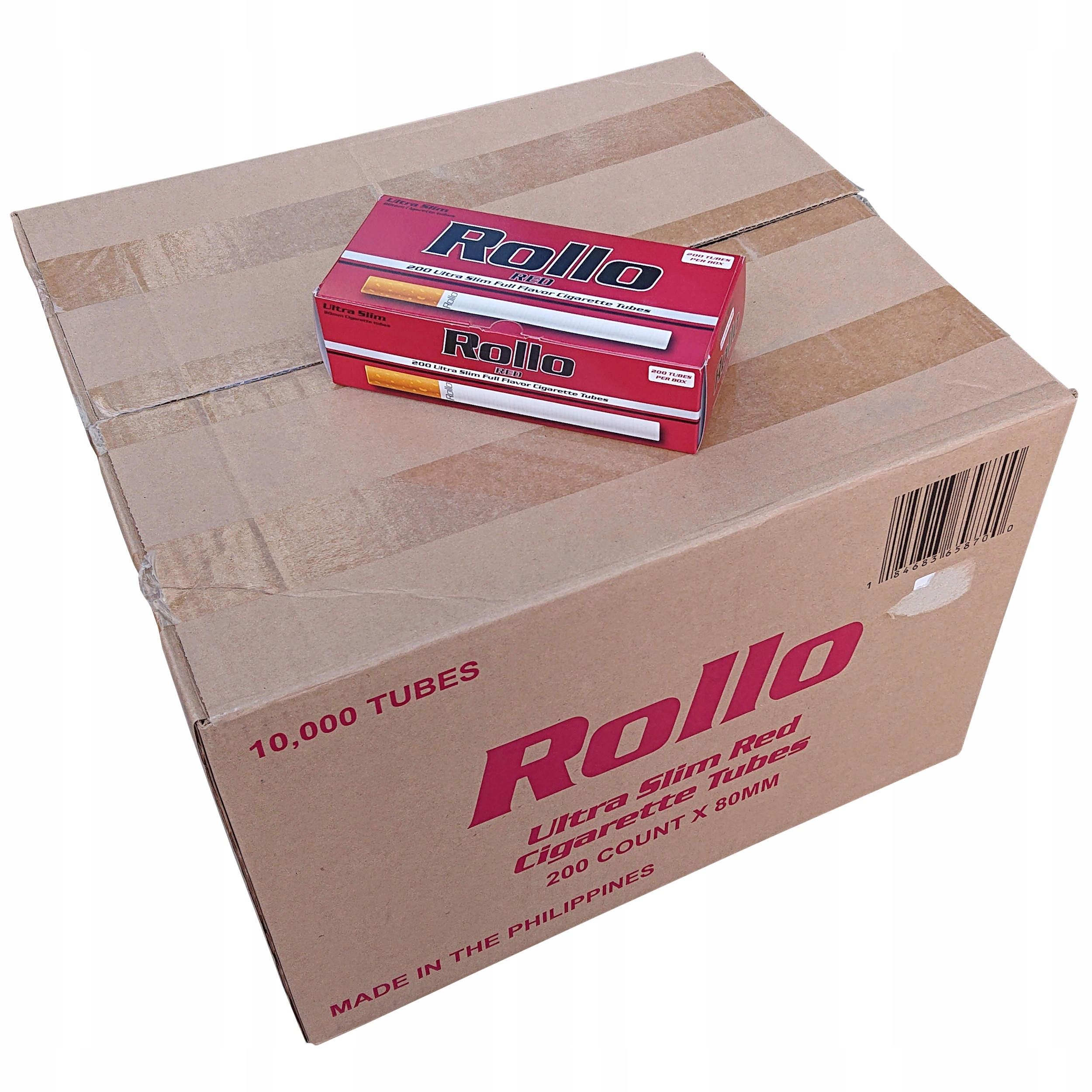 50 x наперсток Ролло ультра тонкий красный 200 шт 6,5 мм EAN 184683658700
