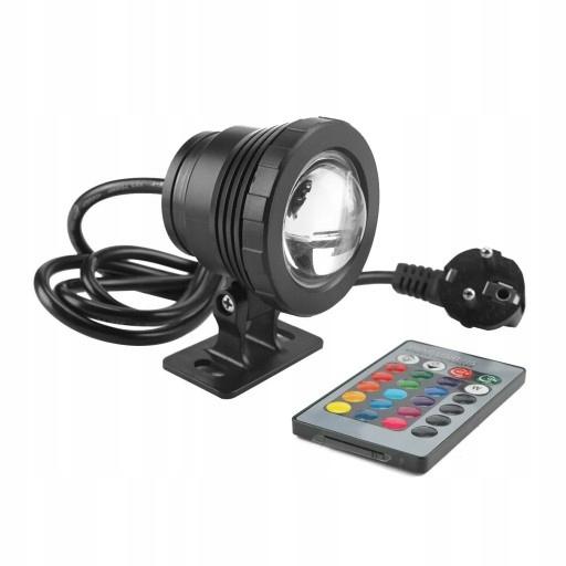 10W RGB LED Reflektor podwodny, wodoodporny