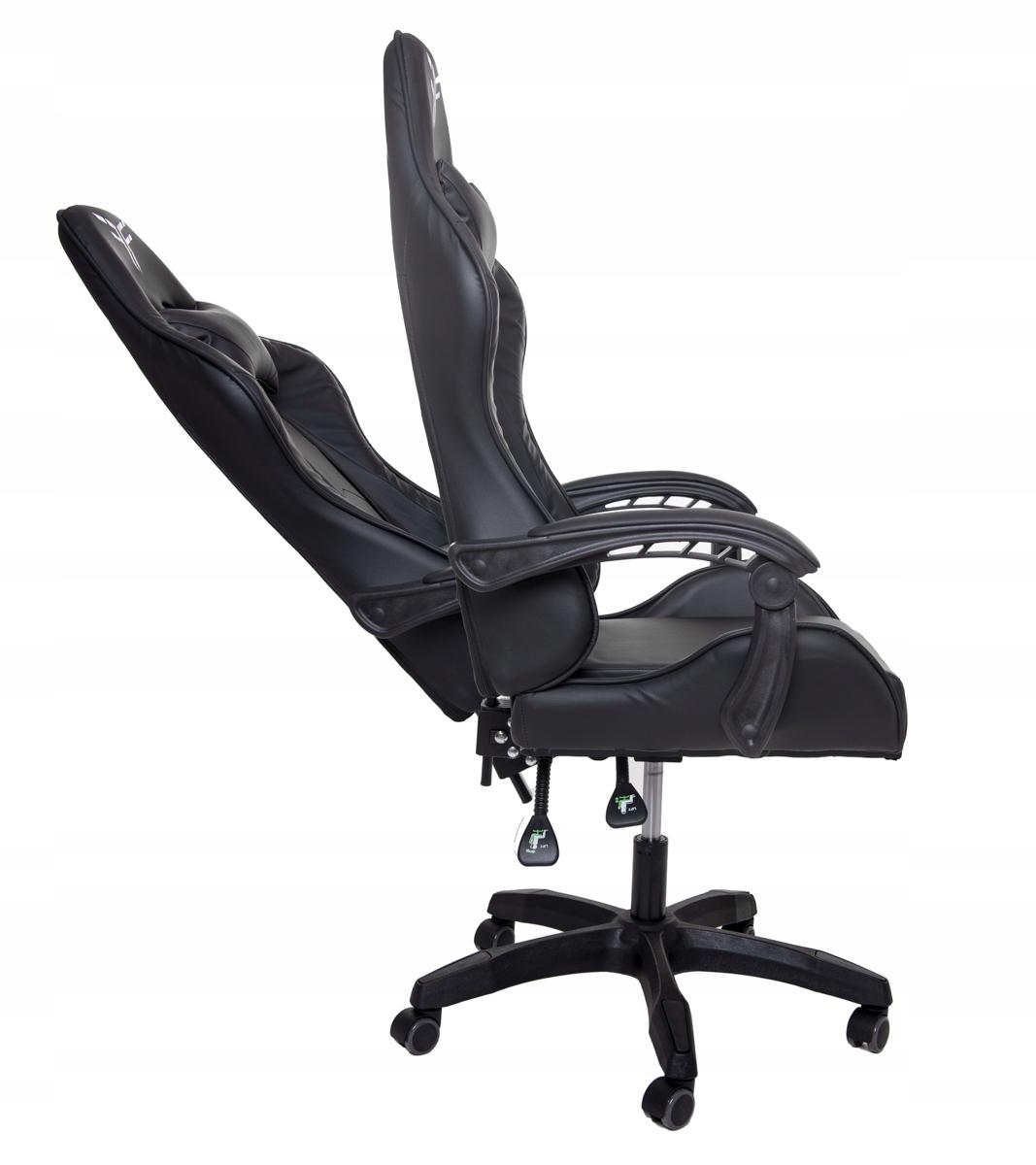 Поворотное игровое офисное кресло-ведро Глубина мебели 50 см.