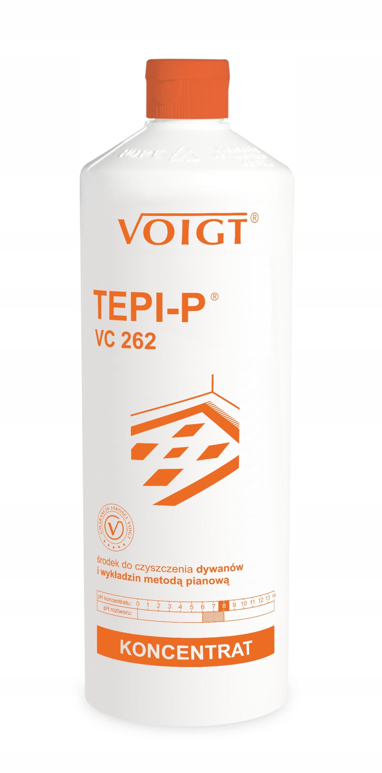 Voigt TEPI-P VC 262 очищает ковры ковры 1лит