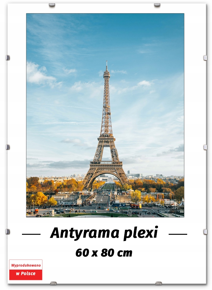Antirama 60x80 Antirami 80x60cm, Posterový rám