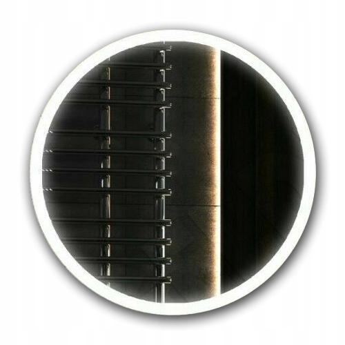 Okrúhle LED osvetlené zrkadlo, 60 cm, do kúpeľne