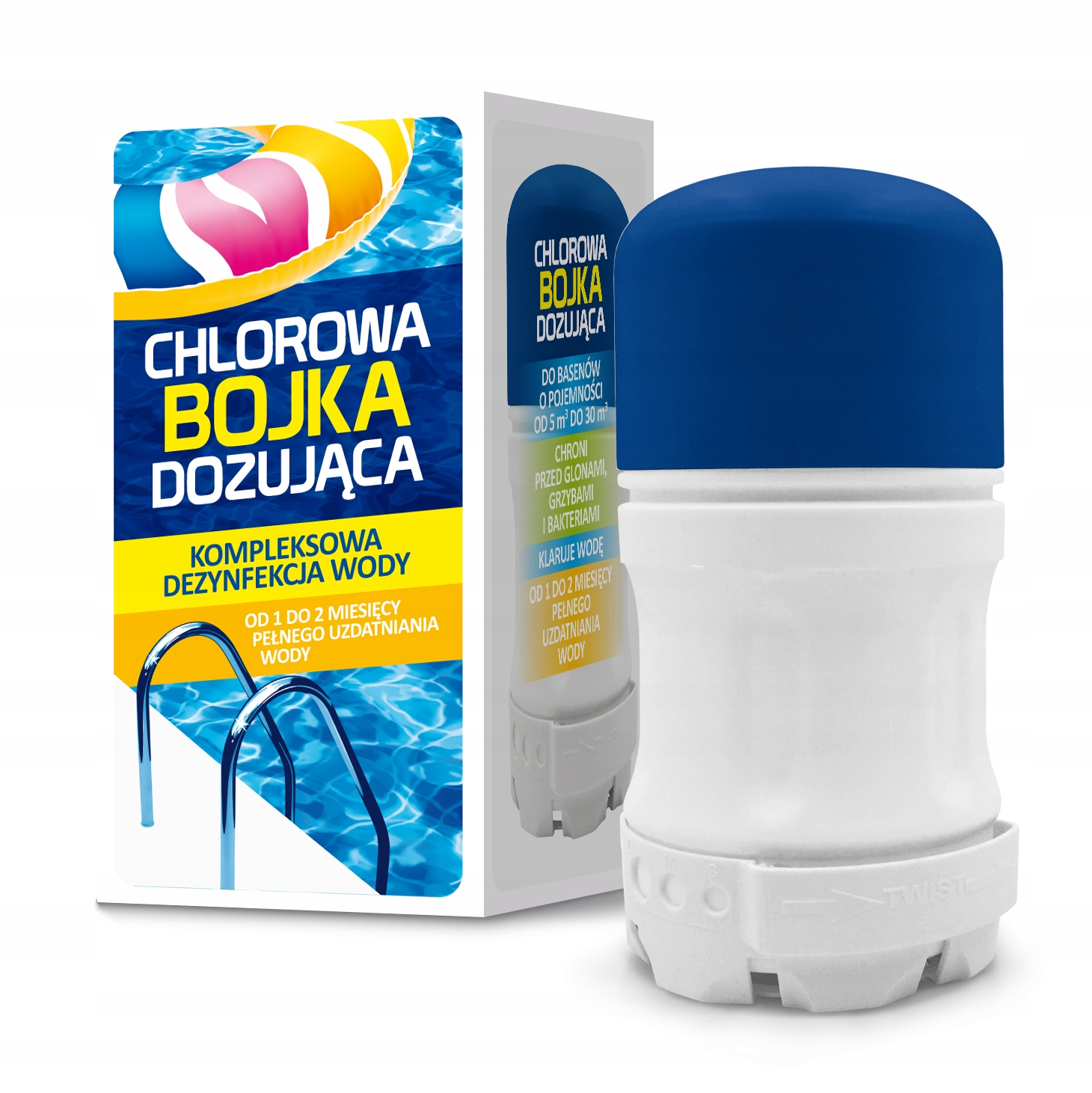 Диспенсер для таблеток хлора Buka Chemistry Pool GAMIX