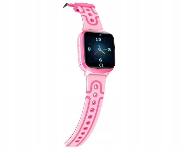 SMARTWATCH DLA DZIECI LOKALIZATOR GPS GoGPS K17 Kolor różowy