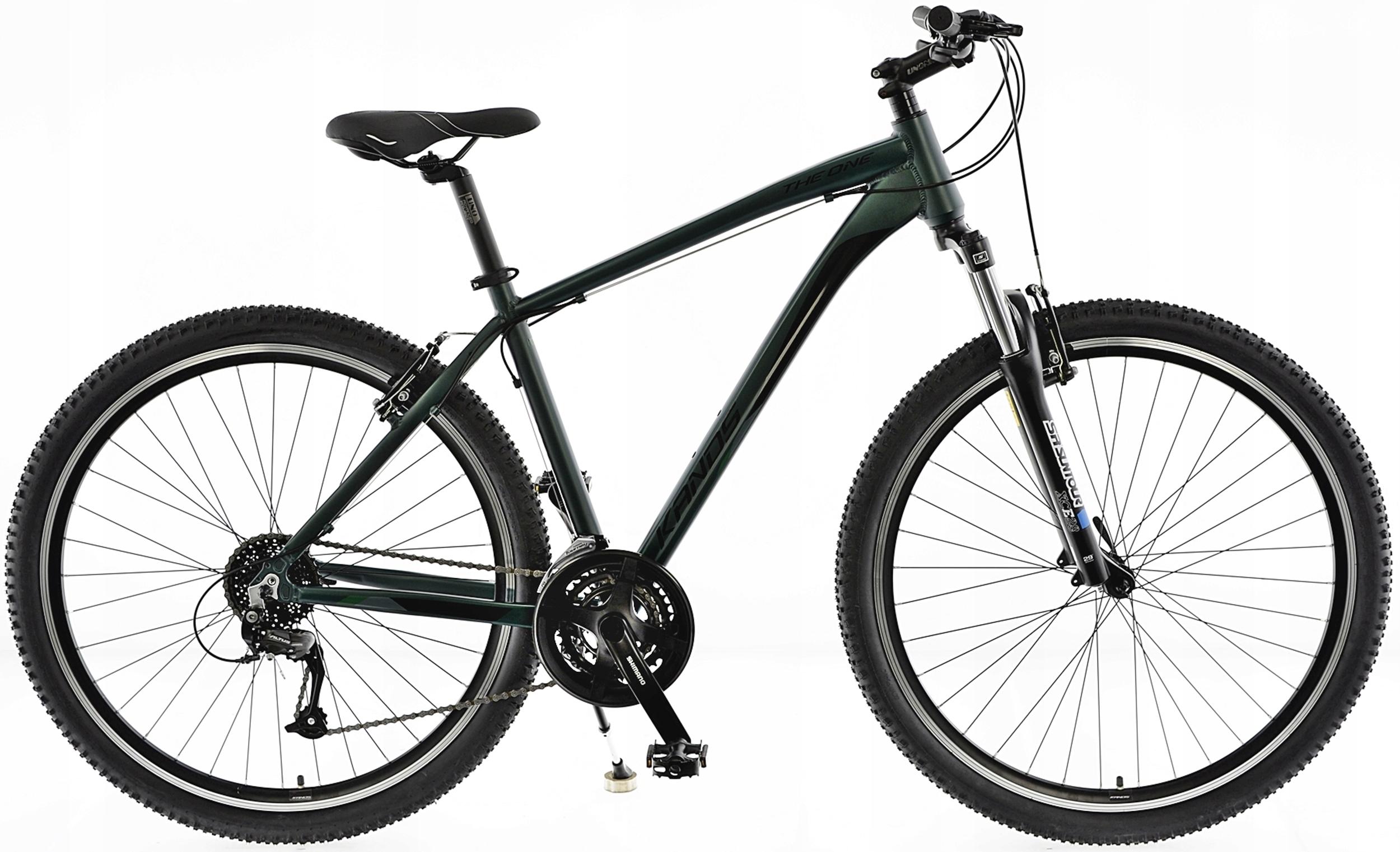 "KANDS THE ONE rower mtb 29 VB altus 19 zieleń 2021 Rozmiar koła ("") 29"