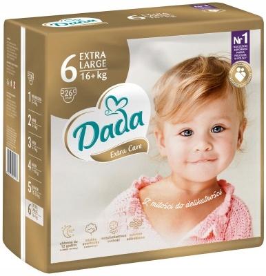 ++ DADA EXTRA CARE EXTRA LARGE 16+ KG R 6 26 шт.