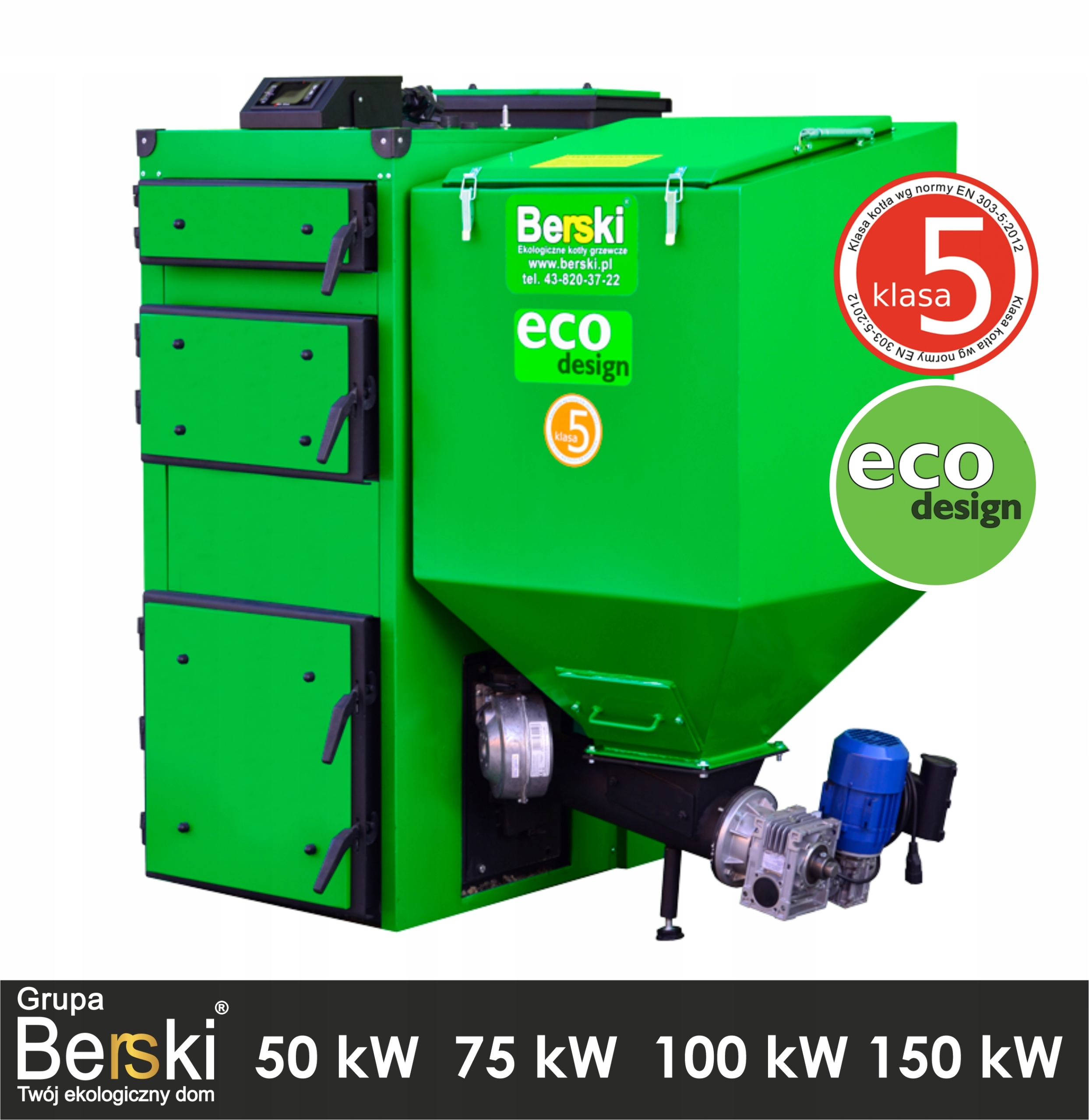 KOTLO Triedy 5 ekodesign 150 kW EKOGROSZEK