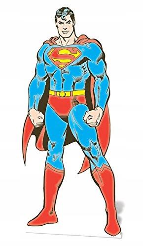 Hviezdne výrezy SC636 Superman DC Comics Cardboard Cu