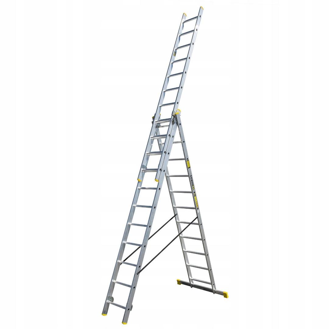 Алюминиевая лестница STRONG Bayersystem 3x11
