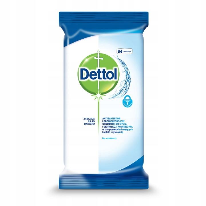 Антибактериальные салфетки Dettol Original 84 шт.