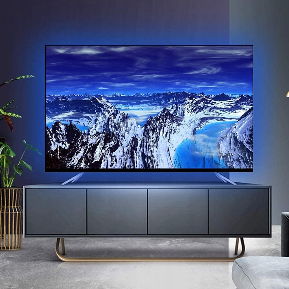 LED STRIP 5050 RGB TV USB BLUETOOTH APP Produktvekt med enhetsemballasje 0,2 kg
