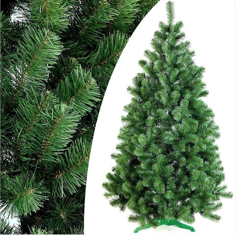Umelý vianočný stromček 150 cm jedľový STOJAN
