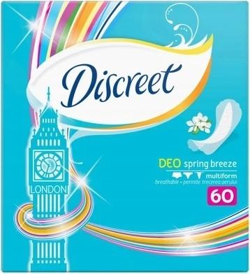 Прокладки Discreet Pantyliners London 60 шт.