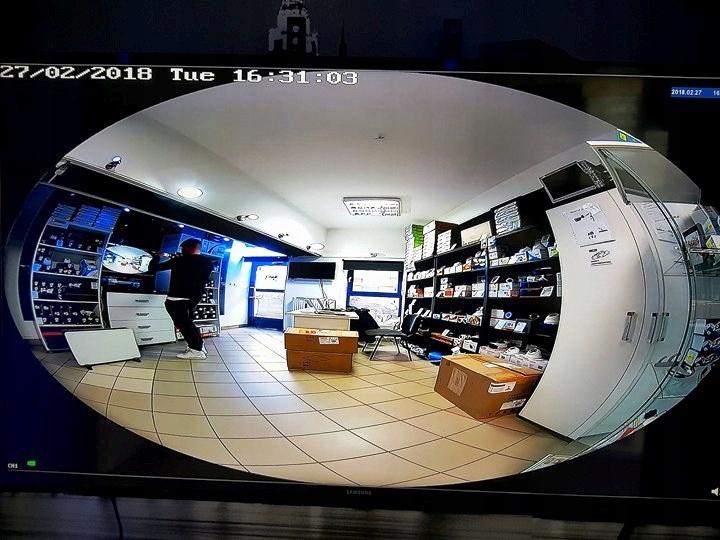 Kamera IP + analog FISHEYE 6MPX RYBIE OKO mSD 360' Obudowa kopułkowa (dome)