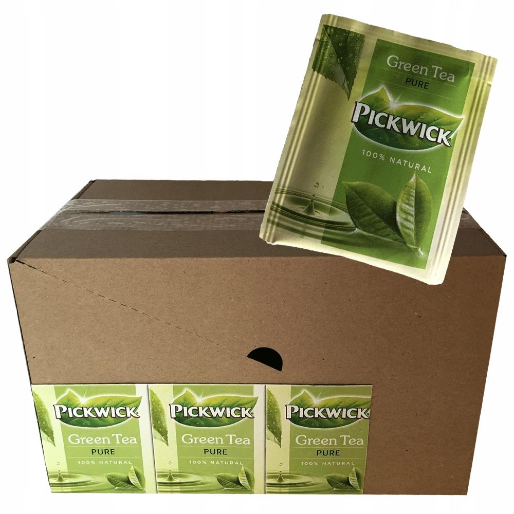 PICKWICK Зеленый чай Pure HoReCa 75