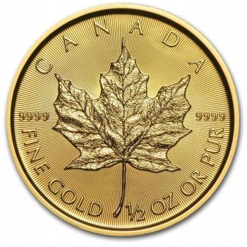 Kanada E. All - 1/2 OZ - GOLD. Zlatá minca