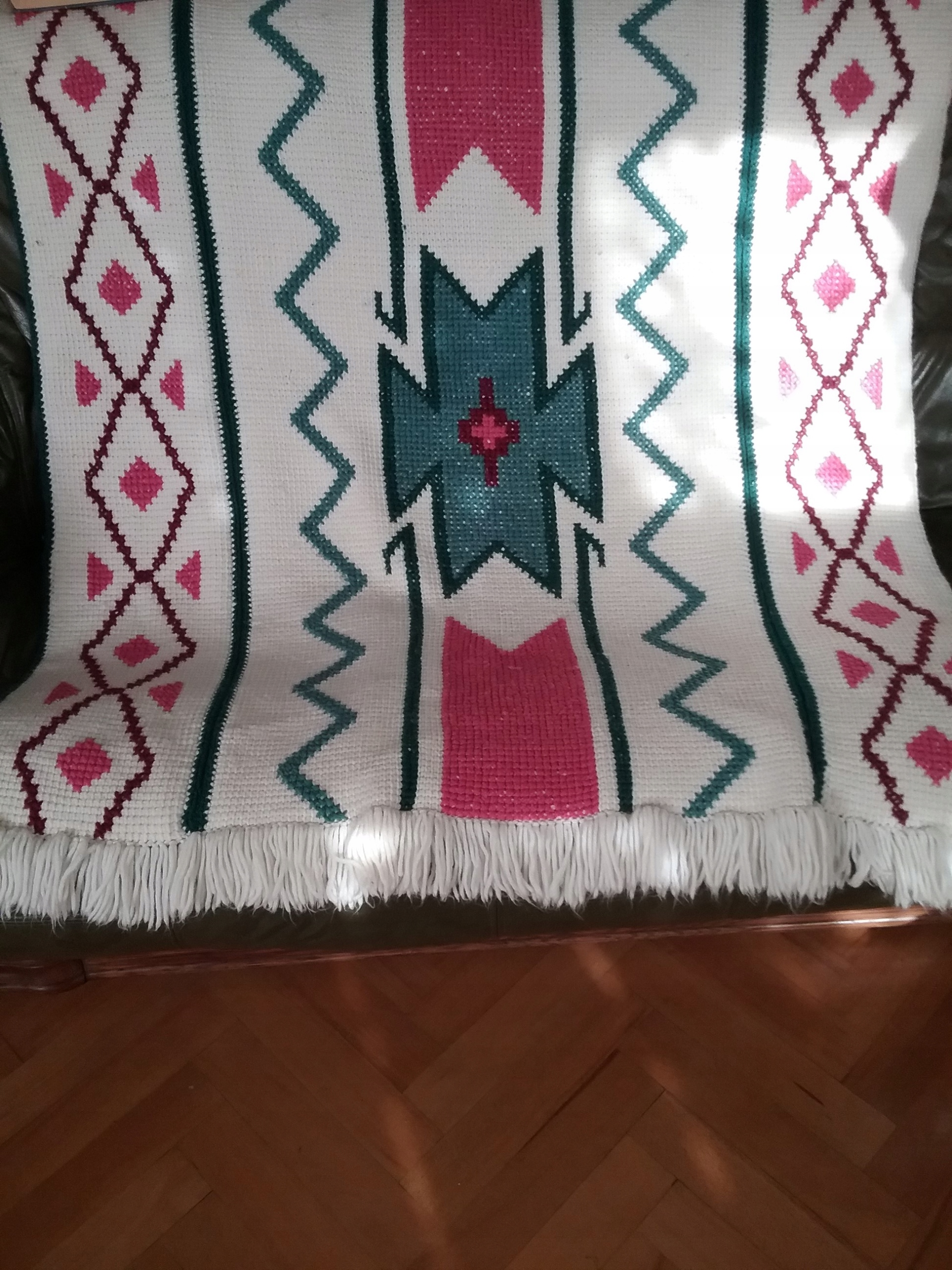 Мастерство KILIM HAND MADE WITH FRINGS