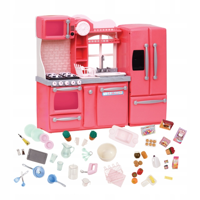 Kuchyňa a doplnky pre bábiky NAŠE GENERÁCIE