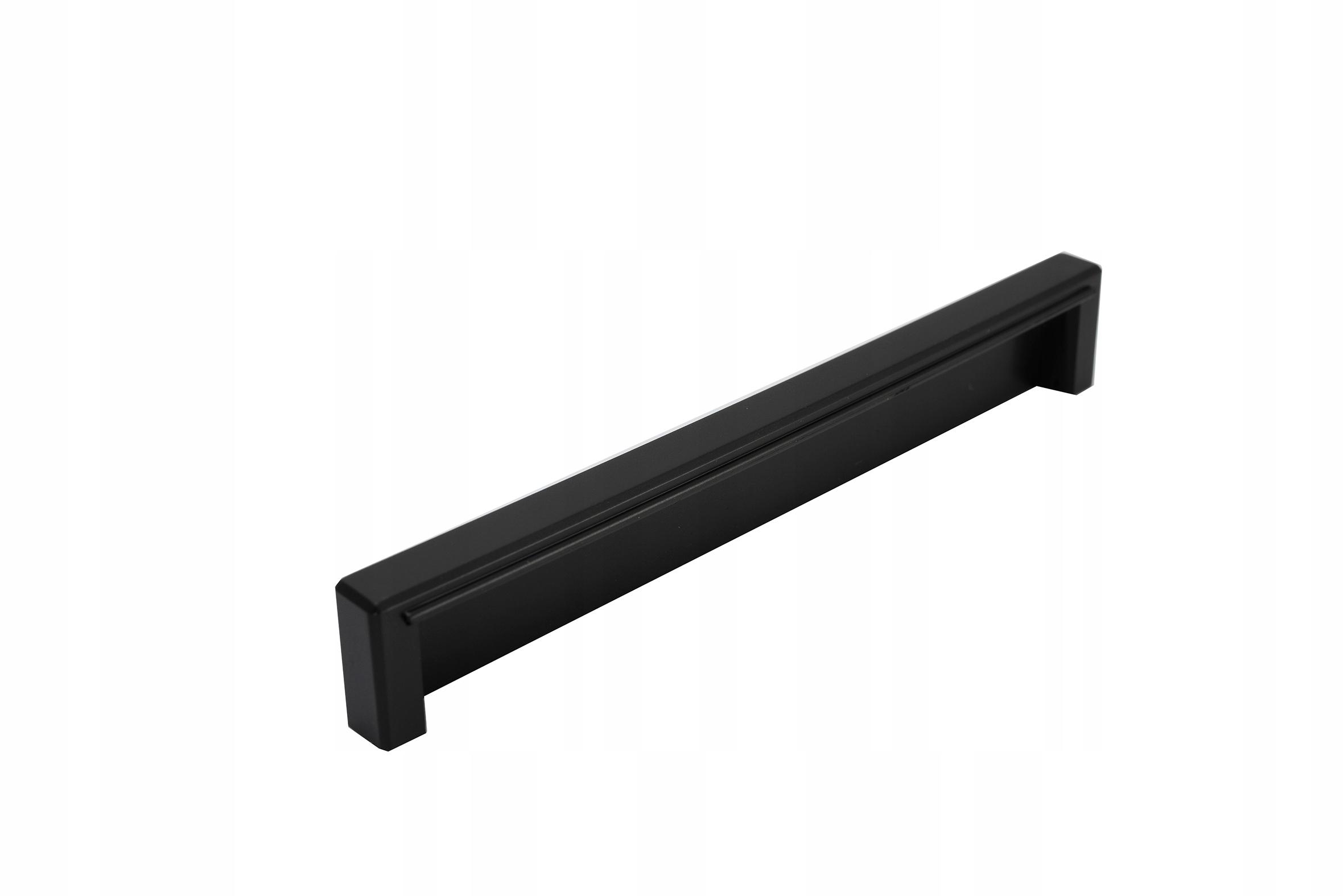 Uchwyt meblowy ULP L-137 czarny mat 128mm