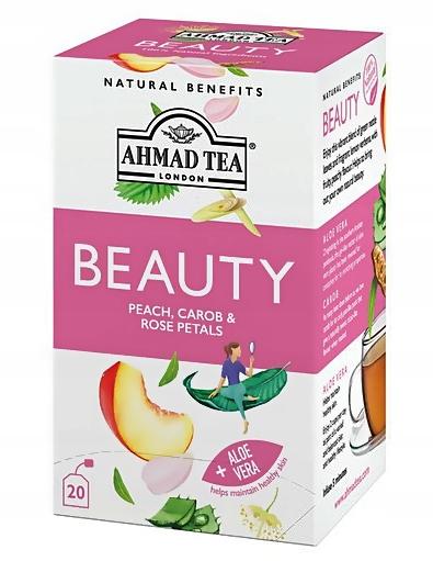 Ahmad Herbata 100% Naturalna PIĘKNO dla Ciebie