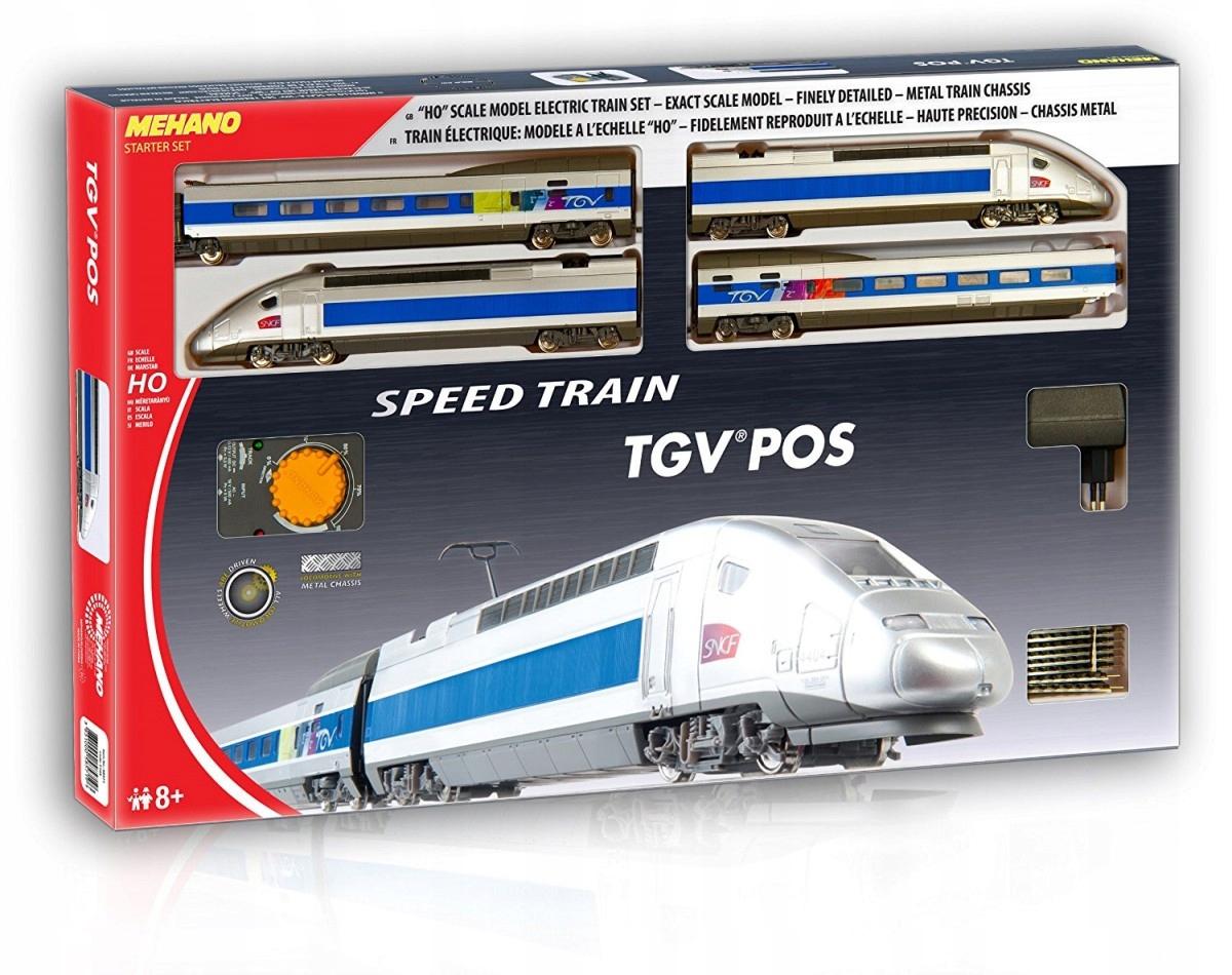 Štartovacia sada MEHANO: TGV POS