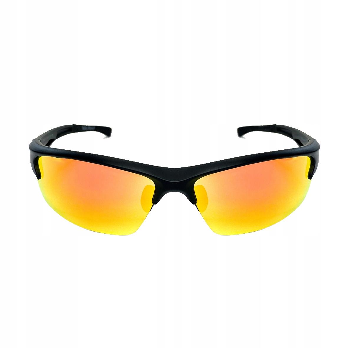 Okulary Sportowe Rowerowe Polaryzacja Lustrzanka