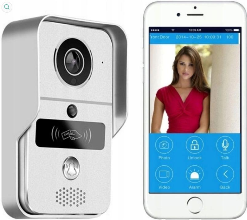Wi-Fi IP видеодомофон Видеодомофон на телефон GSM