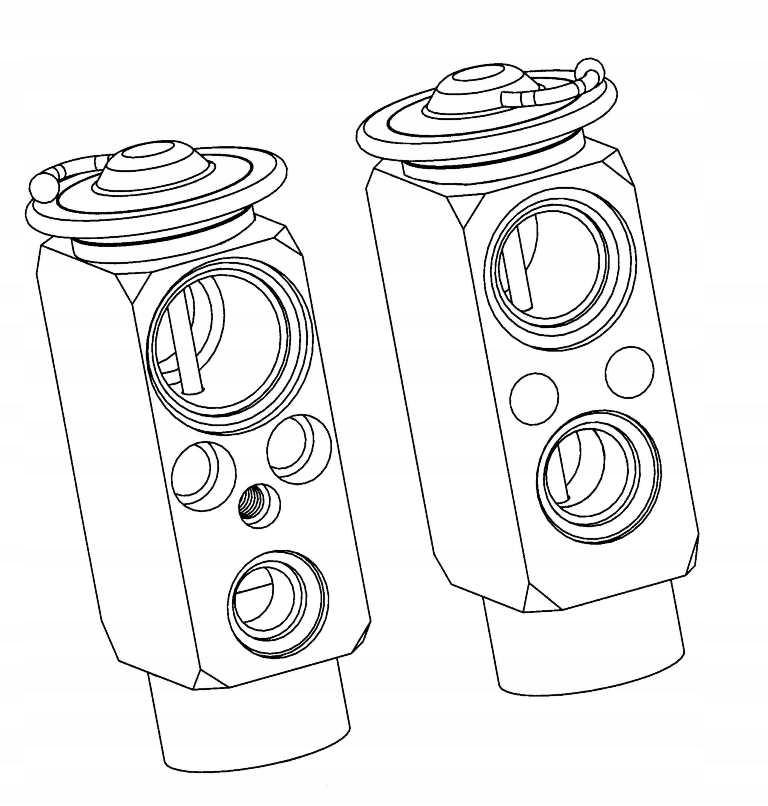 клапан расширительный bmw 5 e39 7 94-01 x5