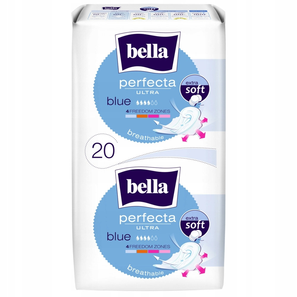 Bella гигиенические прокладки 20шт. Perfecta ULTRA BLUE