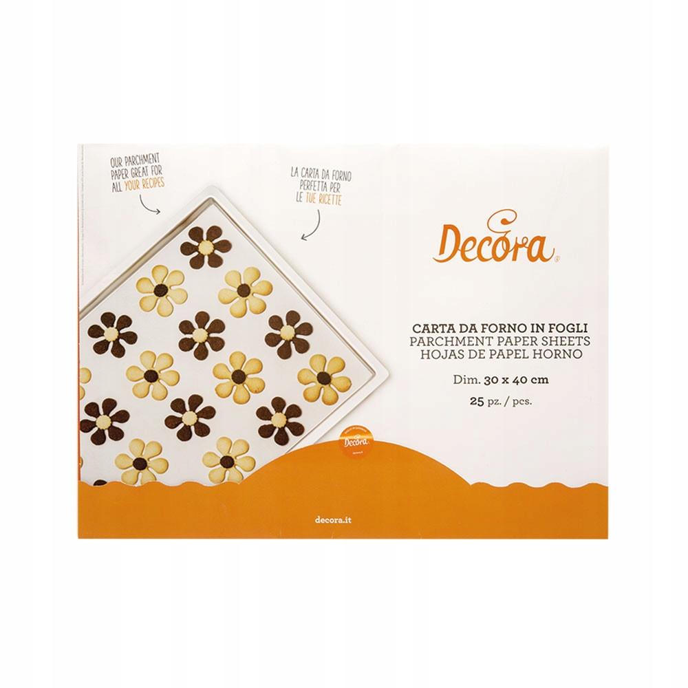 Бумага для выпечки - Декора - 30 х 40 см, 25 шт.