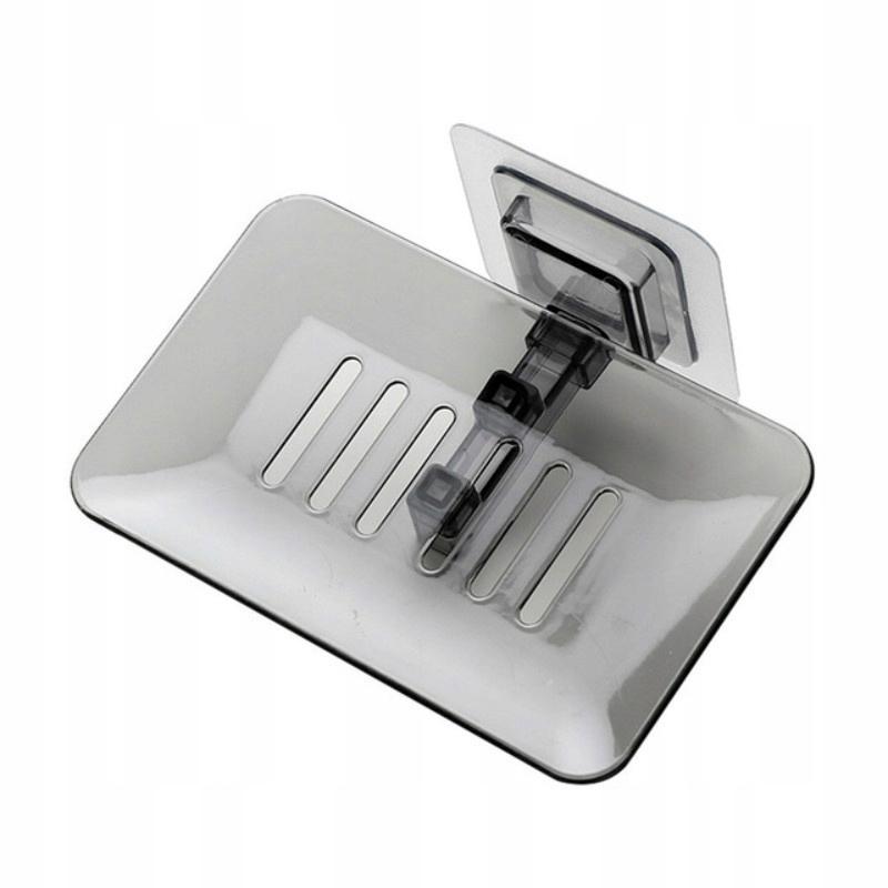 Čierne kúpeľňové mydlo v sprchovej nádobe