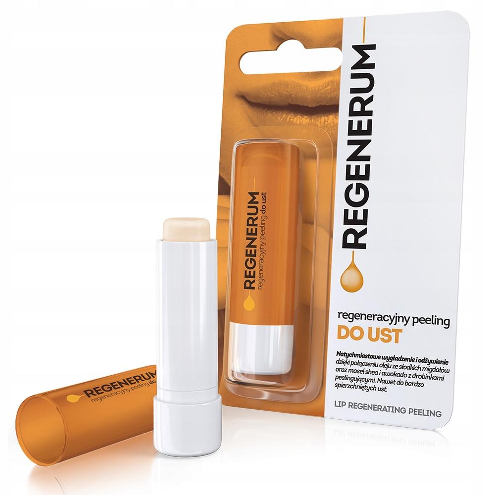 Regenerum regeneracyjny PEELING do ust